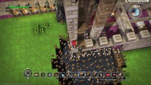 モンスターに破壊された町